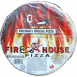 Firehouse Fireman's Special Pizza, 29.5 oz