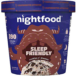 Nightfood Ice Cream Cookies N Dream, 1 pt