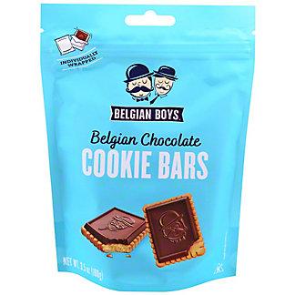 Belgian Boys Belgian Chocolate Cookie Bars, 3.5 oz