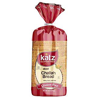 Katz Gluten Free Bread Slice Challah, 18 oz