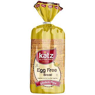 Katz Gluten Free Bread Egg Free, 18 oz