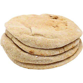 Central Market Wheat Pita Bread, 4 ct