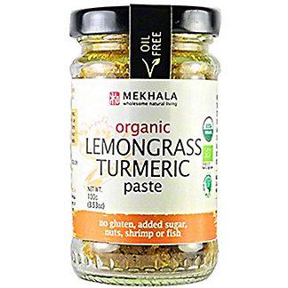 Mekhala Organic Lemongrass Turmeric Paste, 3.53 oz