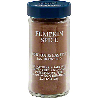 Morton & Bassett Pumpkin Spice Seasoning , 2.2 oz