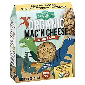 Pastabilities Organic Dinosaur Mac N Cheese, 10 oz