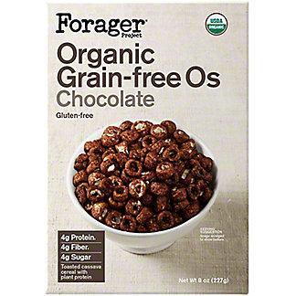 Forager Grain Free Os Chocolate, 8 oz