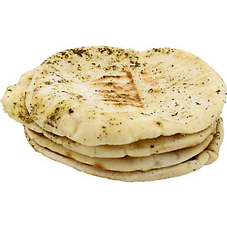 Central Market Zaatar Spiced Pita Bread, 4 ct