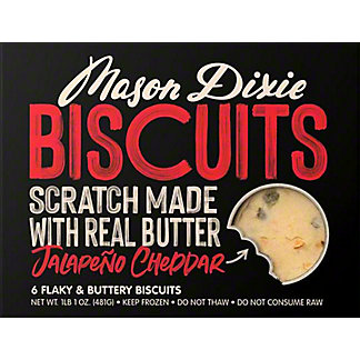Mason Dixie Biscuit Co. Cheddar Jalapeno Biscuits, 17 oz
