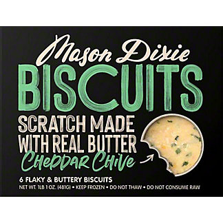 Mason Dixie Biscuit Co. Cheddar ChiveBiscuits, 17 oz