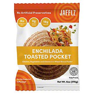 Jafflz Enchilada Toasted Pocket, 6 oz