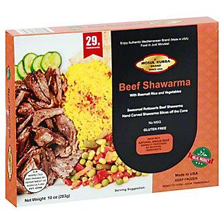 Mosul Kubba Entree Beef Shawarma, 10 oz
