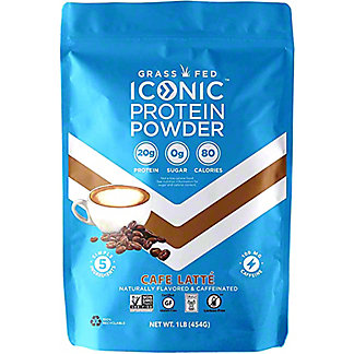 Iconic Cafe Latte Protein Powder, 1 lb