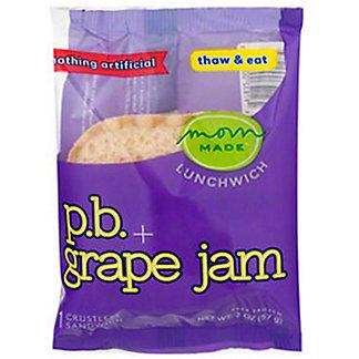 Mom Made Lunchwich PB Grape Jam Sandwich, 2 oz