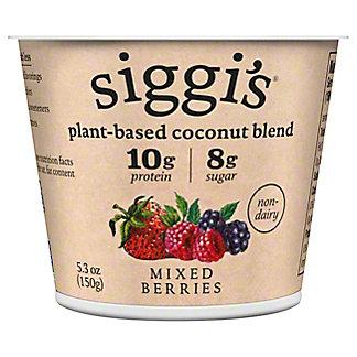 Siggi's Plant Based Mixed Berry Yogurt, 5.3 oz