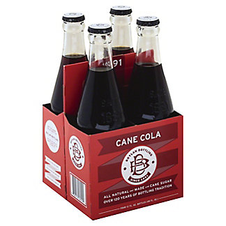 Boylan Cane Cola, Glass Bottles, 4 pk, 12 fl oz ea