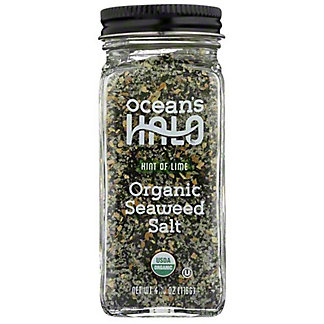 Ocean's Halo Hint Of Lime Organic Seaweed Salt, 4.1 oz