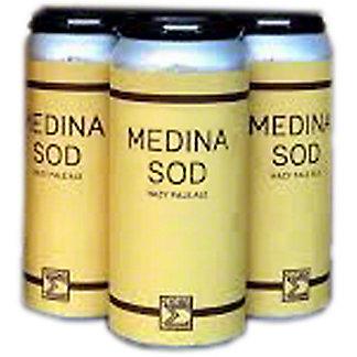 Sigma Brewing Medina Sod DDH Pale Ale, 4 pk Cans, 16 fl oz ea