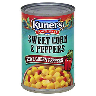Kuner's Sweet Corn & Peppers, 15 oz
