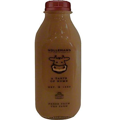 Volleman's Family Farm Whole Chocolate Milk, 32 fl oz