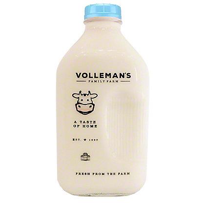 Volleman's Family Farm 2% White Milk, 1/2 gal