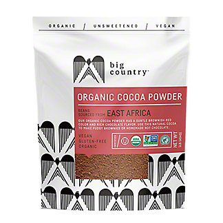 Big Country Organic Cocoa Powder, 10 oz
