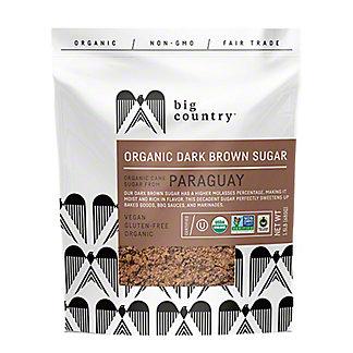 Big Country Organic Dark Brown Sugar, 24 oz
