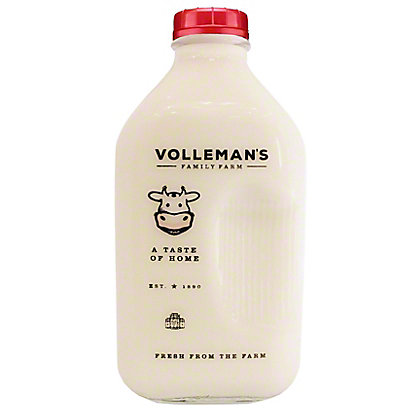 Volleman's Family Farm Whole Milk, 64 fl oz