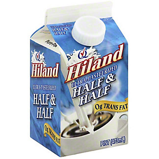 Hiland Half & Half, 16 fl oz