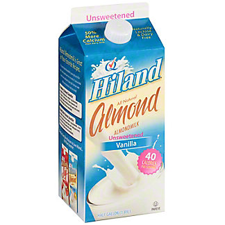 Hiland Unsweetened Vanilla Almond Milk, 64 fl oz
