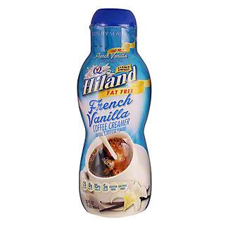 Hiland Fat Free French Vanilla Creamer, 32 fl oz