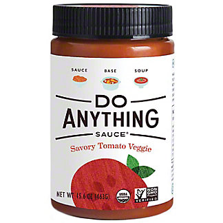 Do Anything Sauce Savory Tomato Veggie, 15.6 oz
