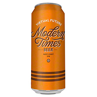 Modern Times Drinks Virtual Future IPA Beer Can, 19.2 oz