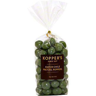 Kopper's Hatch Chile Pretzel Poppers, ea