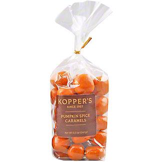 Kopper's Pumpkin Spice Caramels, 8.5 oz