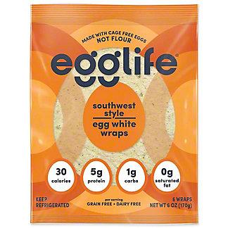 Egglife Southwest StyleEggwhite Wrap, 6 oz