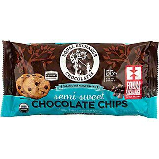 Equal Exchange Organic Semi-Sweet Chocolate Chips, 10 oz