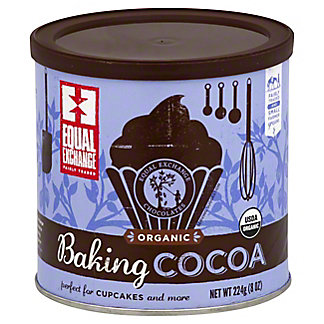Equal Exchange Organic Baking Cocoa, 8 oz