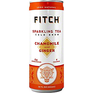 Fitch Chamomile Ginger Sparkling Tea, Can, 12 fl oz
