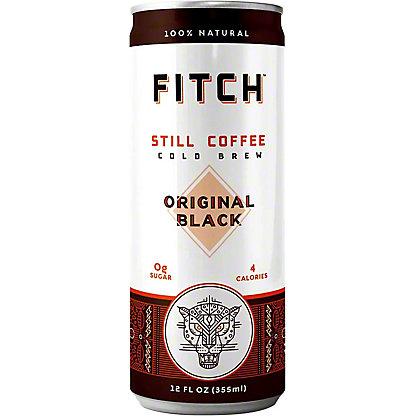 Fitch Cold Brew Coffee, Can, 12 fl oz