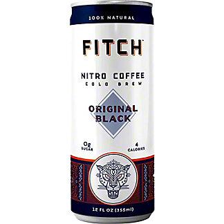Fitch Nitro Cold Brew Coffee, Can, 12 fl oz