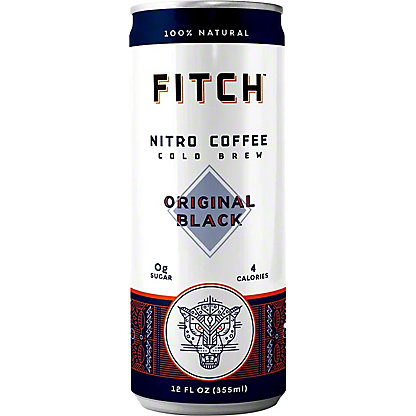 Fitch Nitro Cold Brew Coffee, Can, 12 fl oz