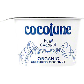 Cocojune Organic Pure Coconut Yogurt, 4 oz