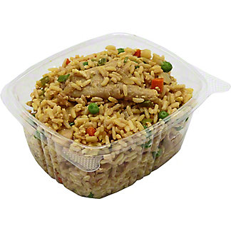 Central Market Vegan Chicken Fried Rice, by lb