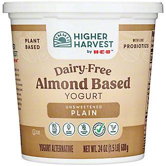 H-E-B PlainAlmond Milk Yogurt, 24 oz