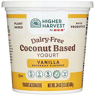 H-E-B Select Ingredients Vanilla Coconut Milk Yogurt, 24 oz
