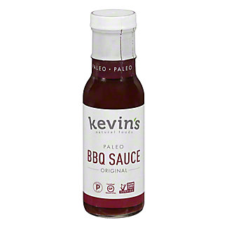 Kevin's Natural Foods BBQ Sauce, 10 oz