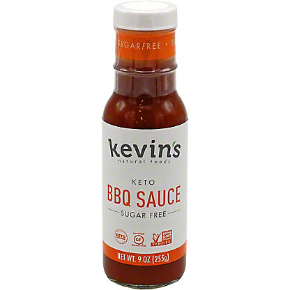 Kevin's Natural Foods Sugar Free BBQ Sauce, 9 oz