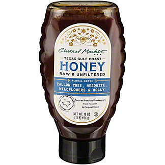 Central Market Texas Gulf Coast Honey, 16 oz
