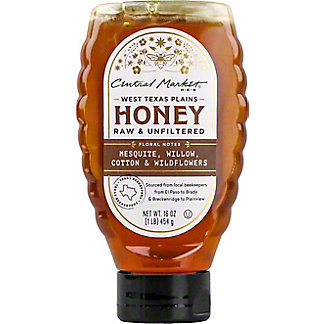 Central Market West Texas Plains Honey, 16 oz