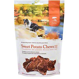 Caledon Farms Sweet Potato Chews With Liver, 9.3 oz